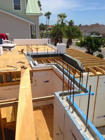 South Texas ICF Installation