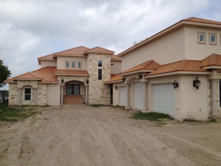 New Home Arroyo City Texas ICF Construction